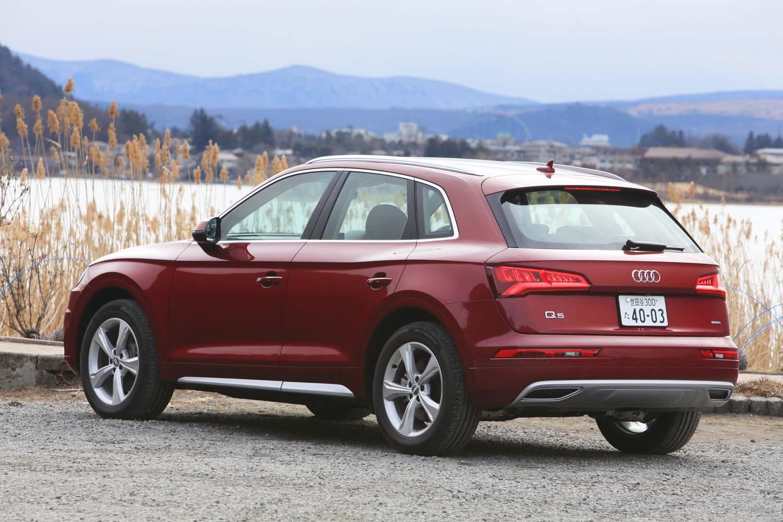 2019年2月19日に発売された「アウディQ5 40 TDIクワトロ」。ガソリンモデルから1年4カ月遅れでの導入となった。