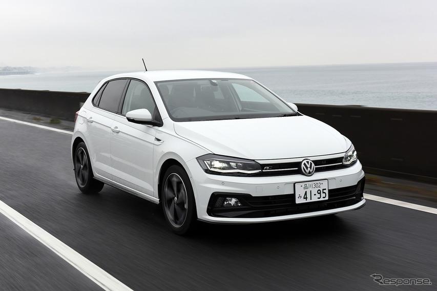 """【VW ポロ TSI R-Line 新型試乗】3気筒グレードの欠点を補う""""割安""""4気筒…渡辺陽一郎"""