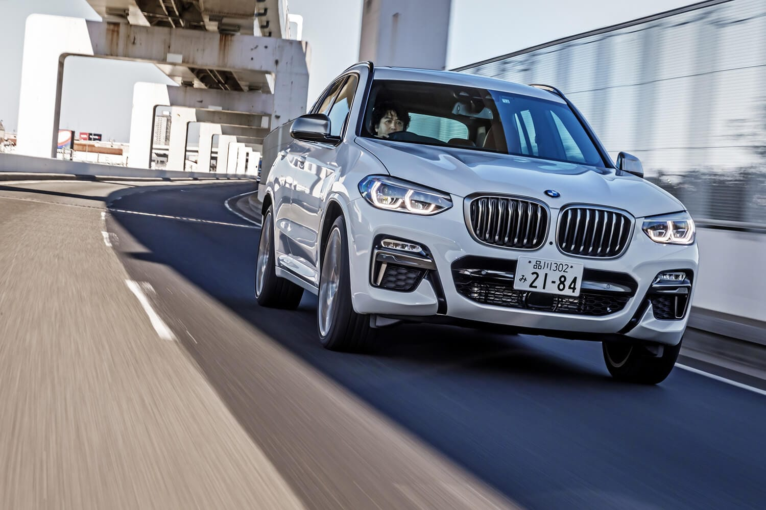 【試乗記】BMW X3 M40d(4WD/8AT)