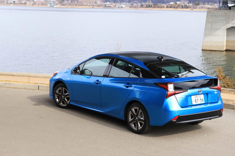 「トヨタ・プリウス」の2018年通年の新車販売台数は11万5462台(自販連調べ)。「日産ノート」「トヨタ・アクア」に次ぐ登録車3位につけた。