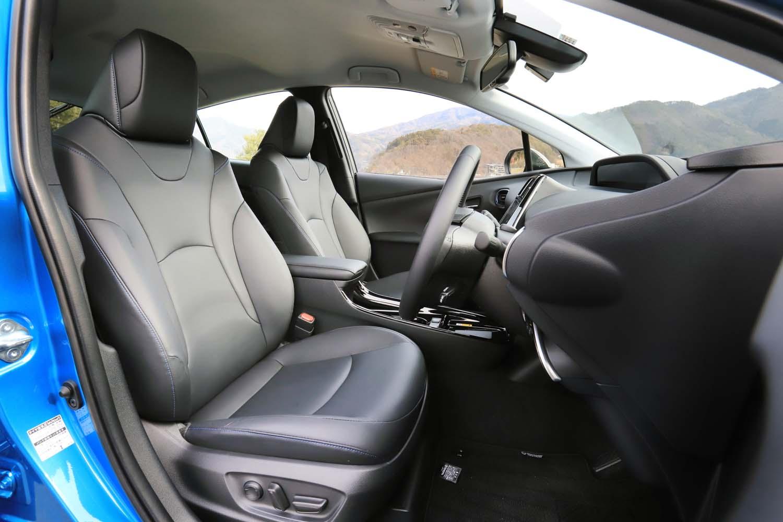 """「A""""ツーリングセレクション""""」では運転席8ウェイ、助手席4ウェイのパワーシートが標準装備となる。"""