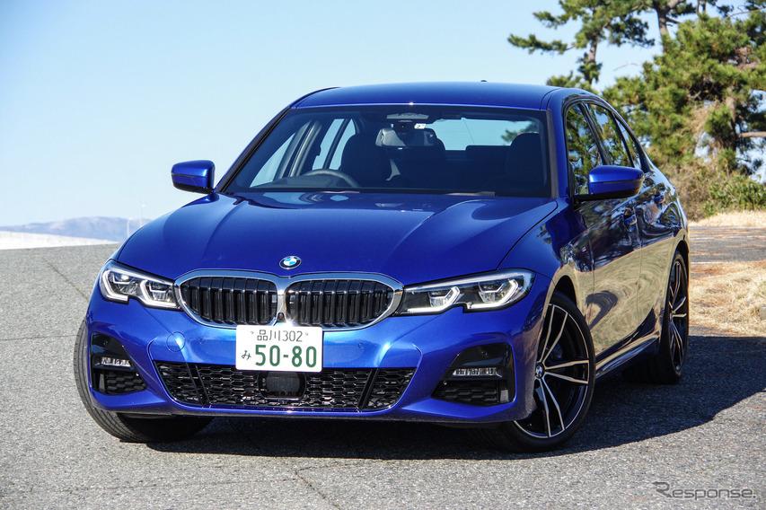 【BMW 3シリーズ 新型試乗】峠道でわかる Cクラス との違い…渡辺陽一郎