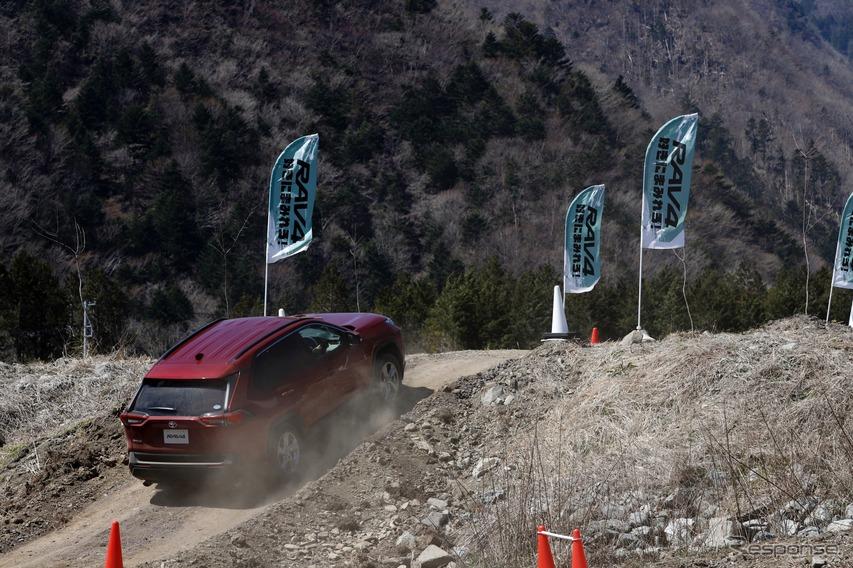 トヨタ RAV4 新型 ガソリンモデル