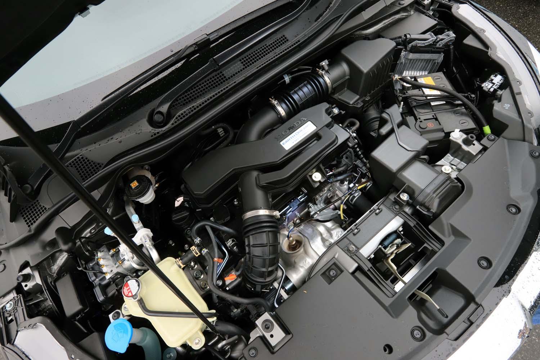 L15B型1.5リッターターボエンジンは、最高出力150ps、最大トルク220Nmというスペック。最大トルクは1700-5500rpmの広範囲で発生する。指定燃料はレギュラーガソリン。