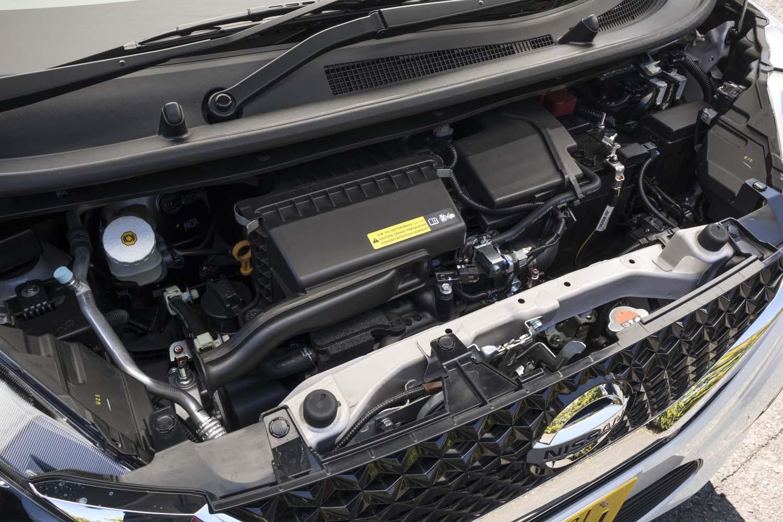 新開発のBR06-SM21ユニット。自然吸気エンジン(写真)でも、先代に比べて全域でおよそ10%のトルクアップ(最大15%アップ)を実現した。