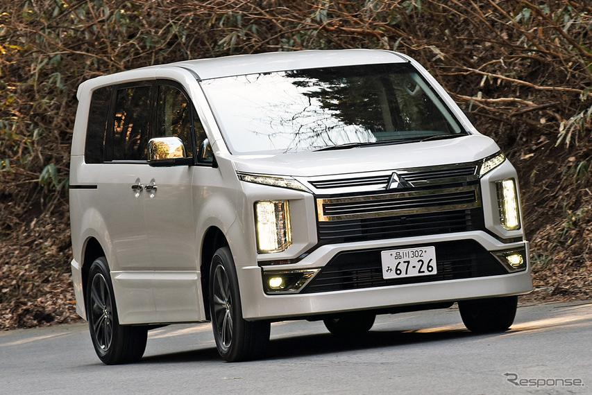 【三菱 デリカD:5 新型試乗】高速走行が得意科目になったデリカ…石井昌道
