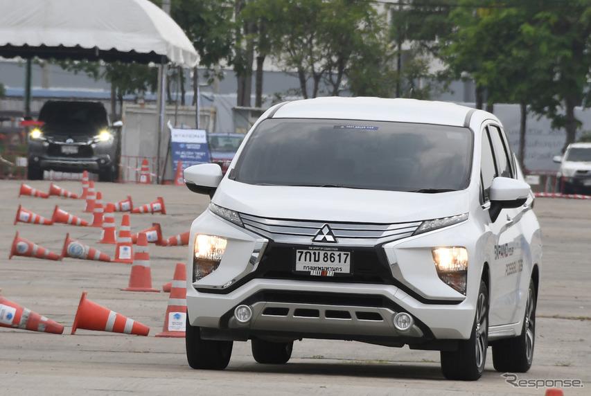 【三菱 エクスパンダー 海外試乗】アジアの多人数乗車を変える可能性を秘めた1台…諸星陽一