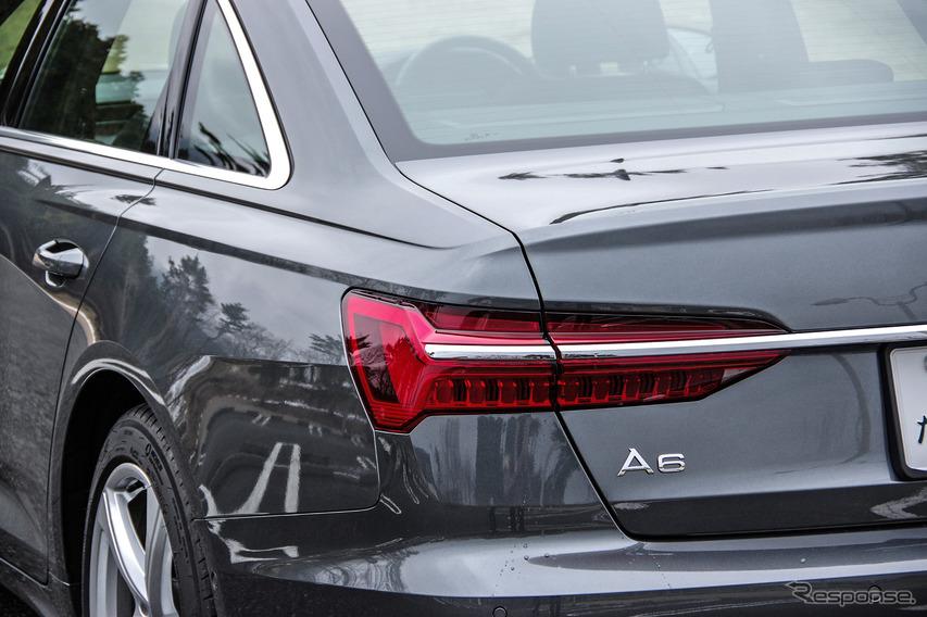 アウディ A6セダン 新型(A6 55 TFSI クワトロ S-line)
