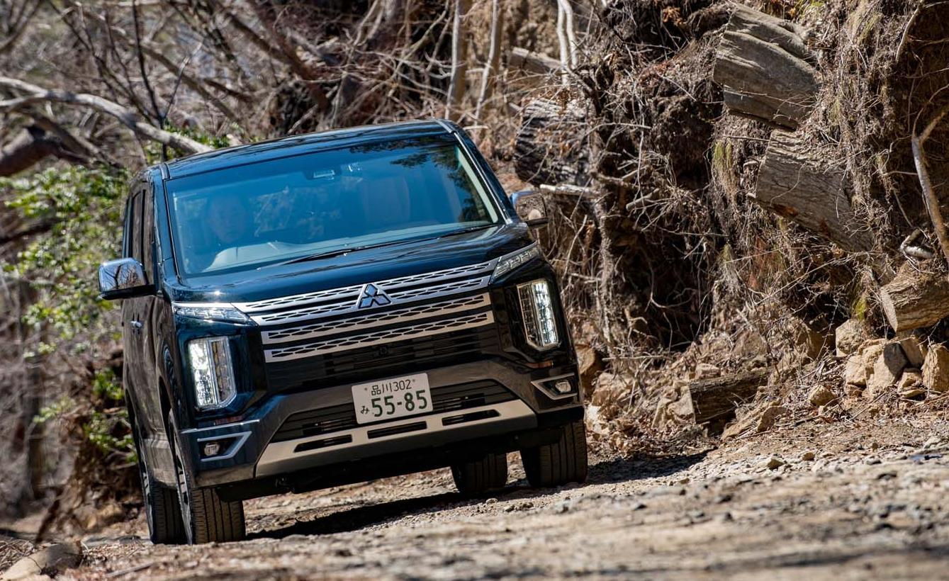 【試乗記】三菱デリカD:5 P(4WD/8AT)