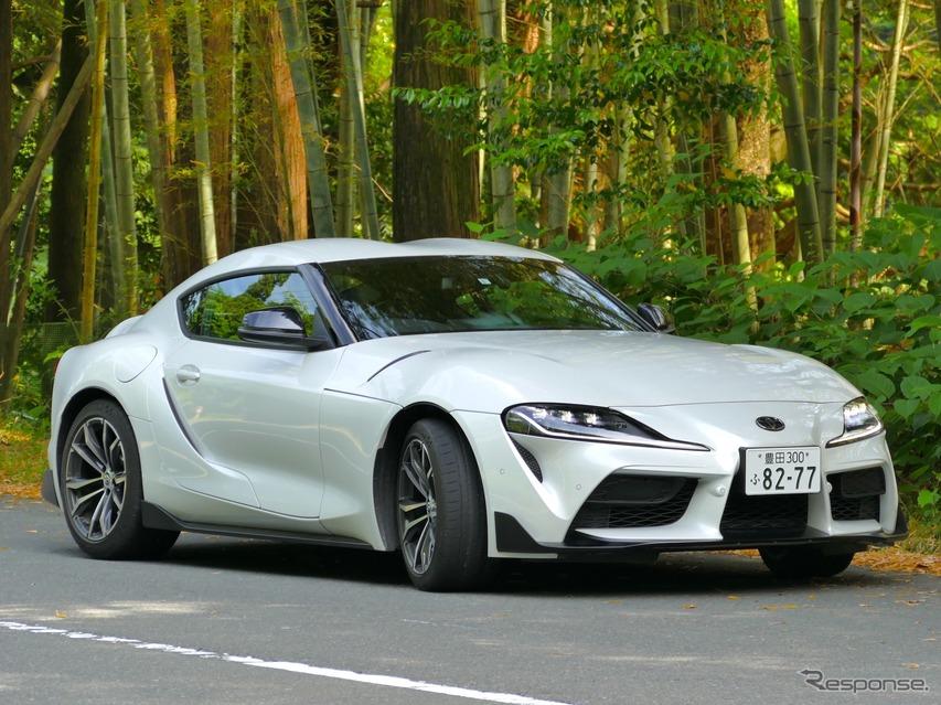 【トヨタ スープラ 新型試乗】「SZ-R」は6気筒とは質感違いのパワフルさ…島崎七生人
