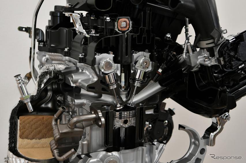 ダイハツ タント 新型に搭載されるDNGAエンジン
