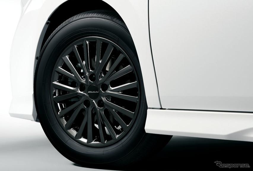 ホンダ ステップワゴン モデューロ X 16インチアルミホイール +ブラックホイールナット(ハイブリッド車)