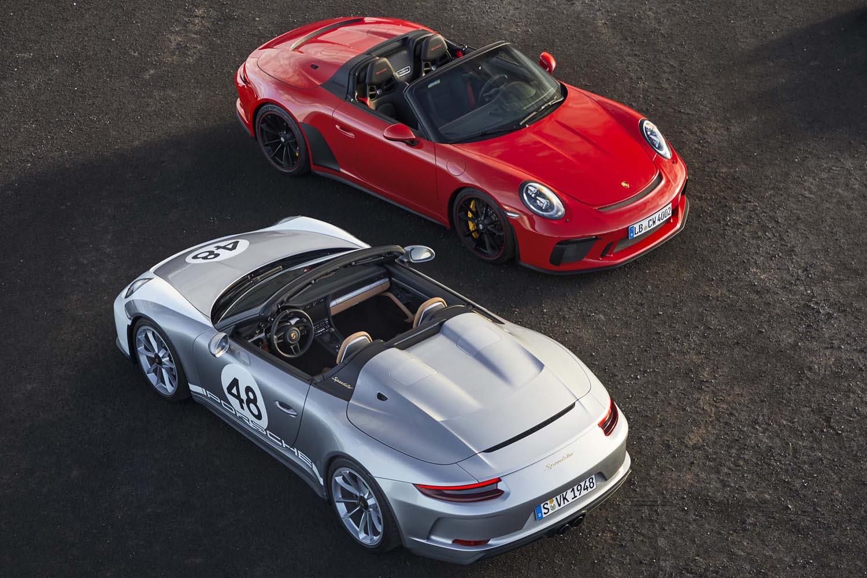 2018年6月にコンセプトモデルが発表されるやマニアの注目を集めた「911スピードスター」。市販型は2019年4月のニューヨークモーターショーでデビューした。