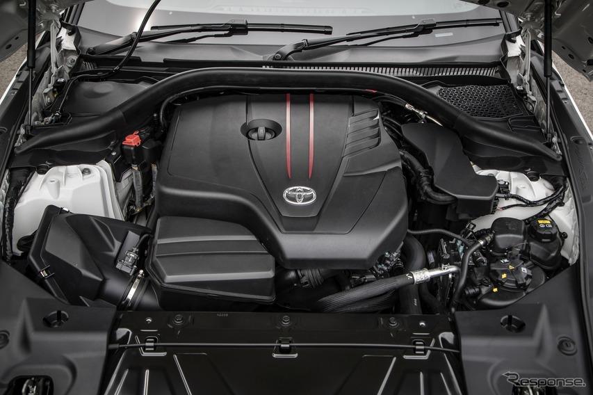 トヨタ スープラ 新型 2.0L B48 直列4気筒エンジン