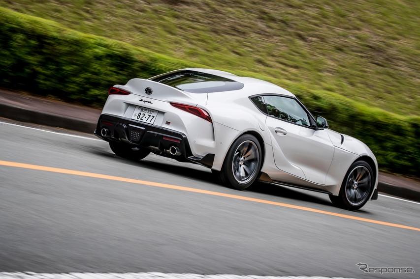 トヨタ スープラ 新型 SZ-Rグレード(直4モデル)