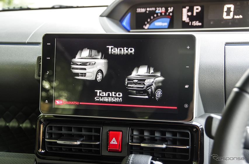 ダイハツ タント 新型(カスタムRS)