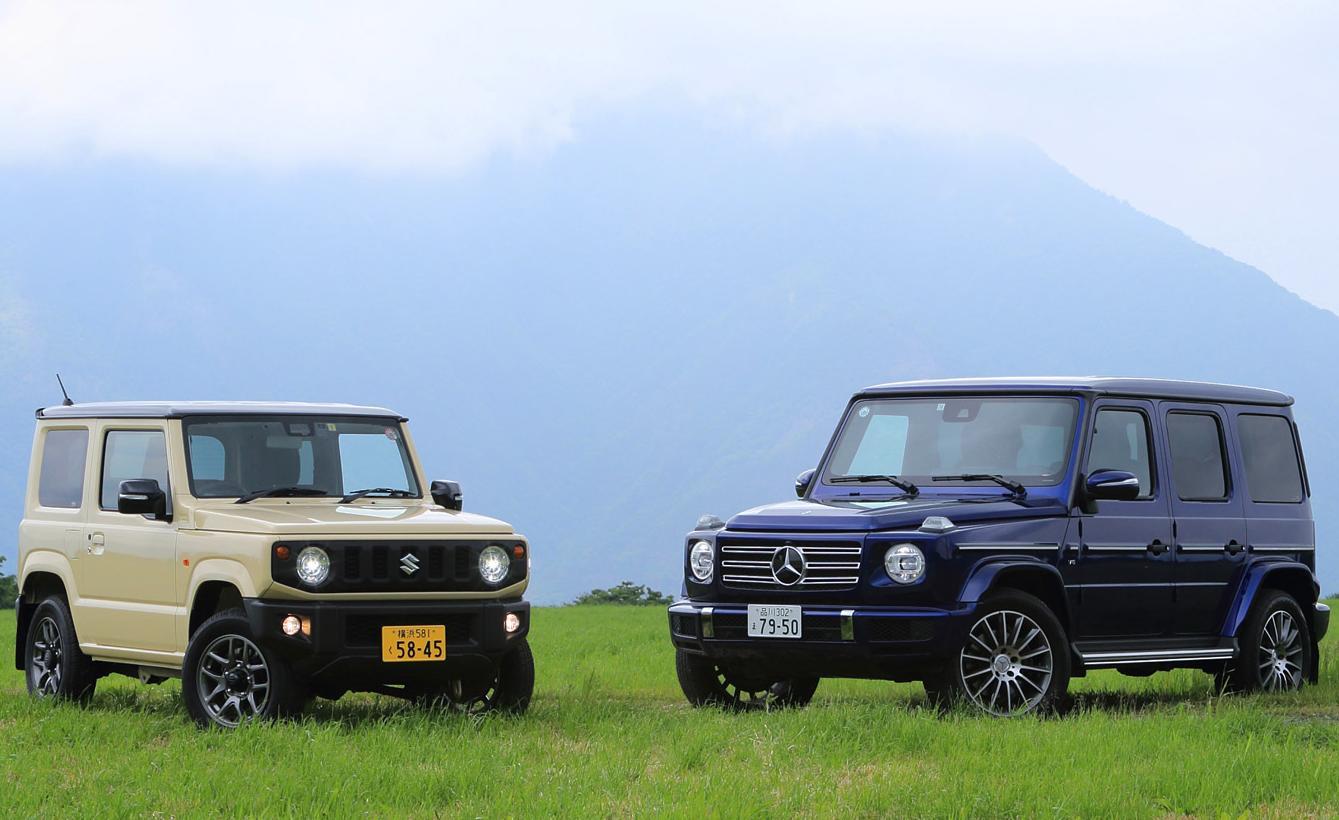 【試乗記】スズキ・ジムニー/メルセデス・ベンツGクラス(後編)