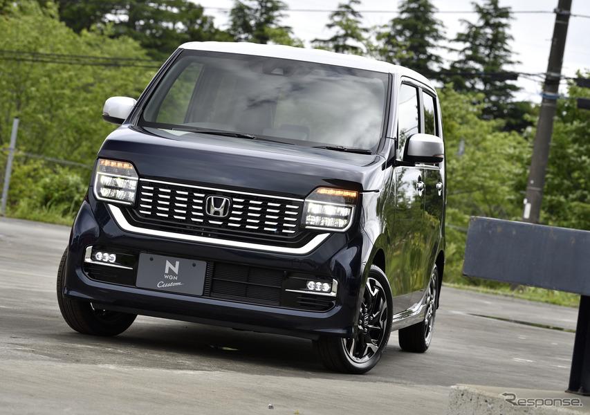 ホンダ N-WGN カスタム 新型