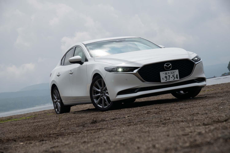 今回のテスト車は2リッター直4ガソリンエンジン(スカイアクティブXではない既存のもの)を搭載した「20S Lパッケージ」。車両本体価格は264万9000円。