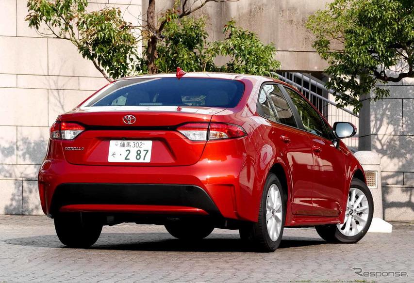 トヨタ カローラ 新型(カローラS 1.8リットル)