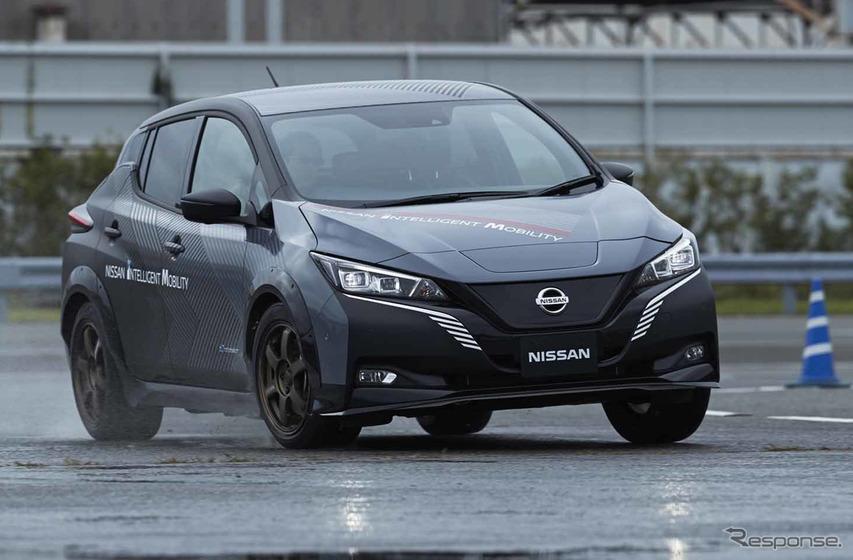 日産の新型電動SUV『アリア』の2モーター・4輪制御を先行体験!FWDへの搭載も期待
