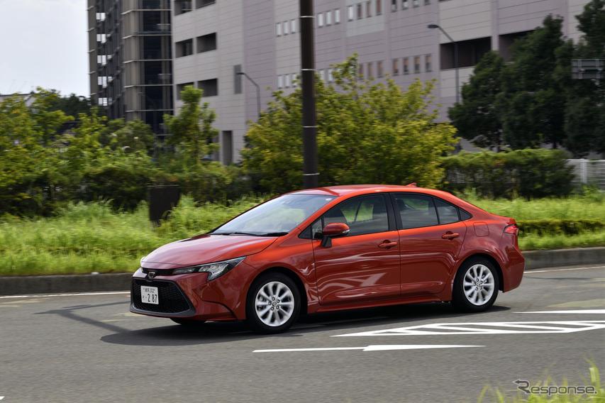 トヨタ・カローラ新型