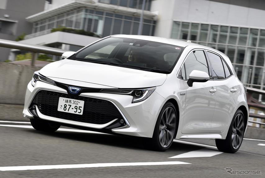 【トヨタ カローラスポーツ 新型試乗】発売から1年でサスを改良、比較すれば誰でもわかる違い…片岡英明