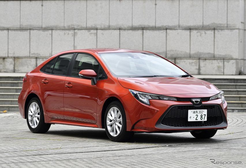 トヨタ カローラ 新型(1.8リットル ガソリン)