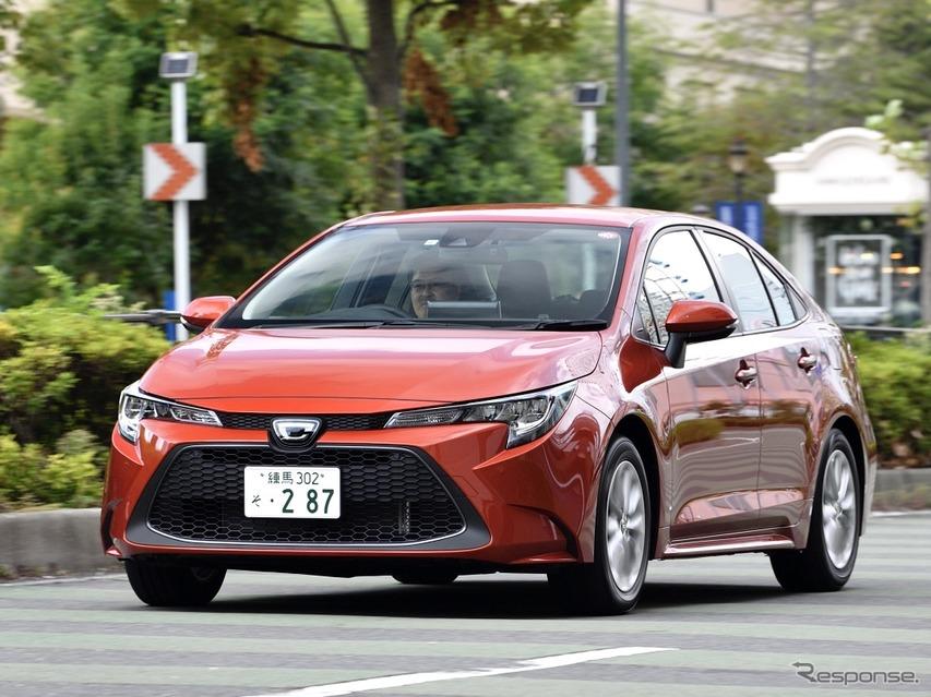 トヨタ カローラ 新型(ガソリン)