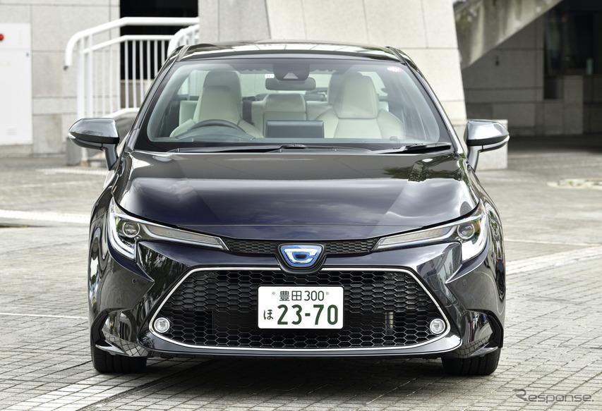トヨタ カローラ 新型(ハイブリッド)
