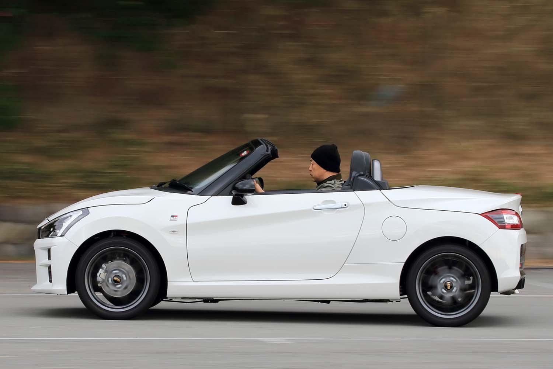 GRシリーズの中ではもっとも手軽な存在の「GRスポーツ」。「コペンGRスポーツ」は新たなエントリーモデルとしてシリーズ全体の間口を広げる存在だ。