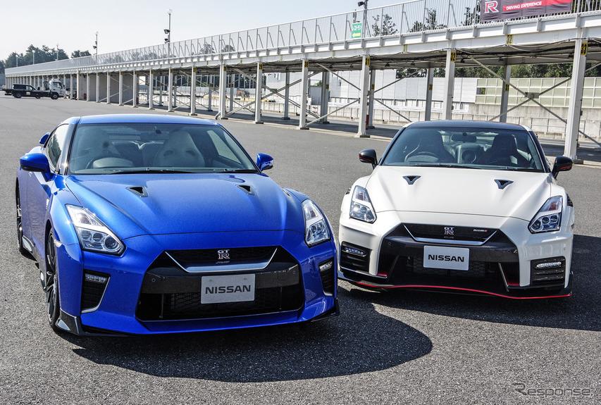 日産 GT-R 2020年モデル(左)とGT-R NISMO 2020年モデル(右)
