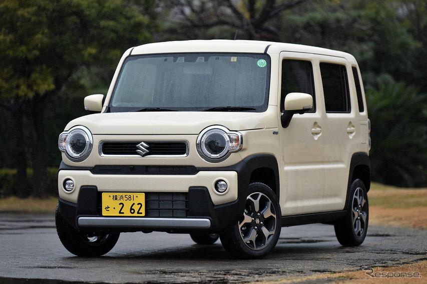 スズキ ハスラー 新型(ターボ 4WD)