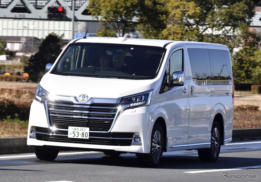 【トヨタ グランエース 新型試乗】ありそうでなかった「4人のVIP」のための上級送迎車…まるも亜希子