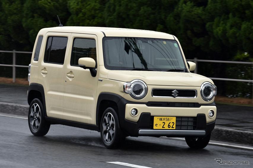 スズキ ハスラー 新型(ハイブリッドターボ X)
