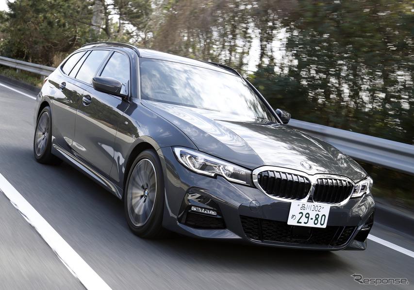 【BMW 3シリーズツーリング 新型試乗】『3』の走りを実感させてくれる…島崎七生人