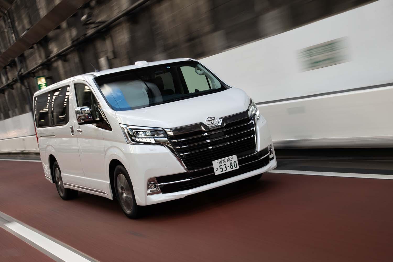 【試乗記】トヨタ・グランエースG(FR/6AT)/グランエース プレミアム(FR/6AT)