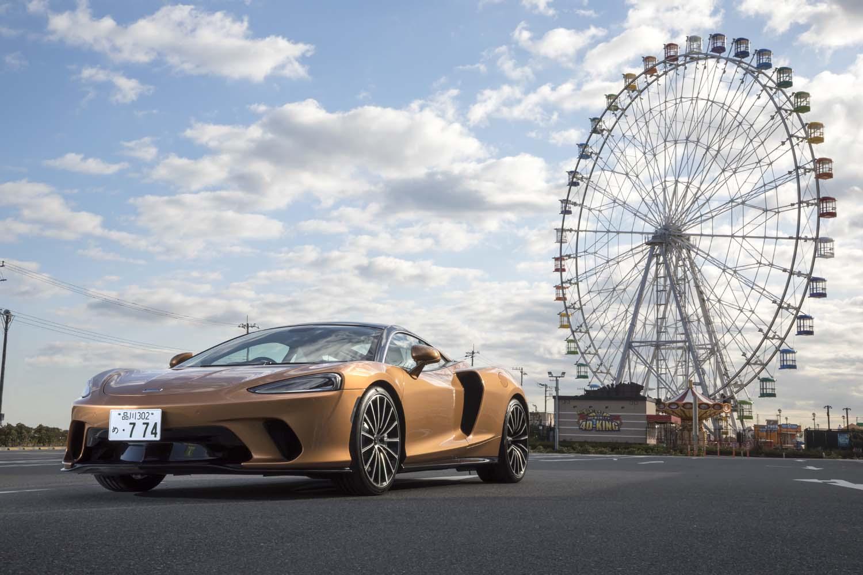 「マクラーレンGT」は、長距離ドライブにおける快適性を意識して開発されたスポーツカー。日本では2019年10月にデリバリーが開始された。