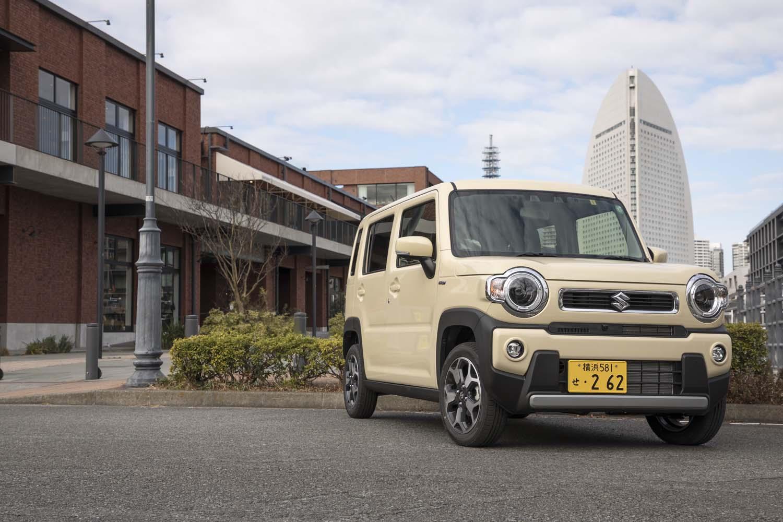 スズキ・ハスラー ハイブリッドXターボ(4WD/CVT)