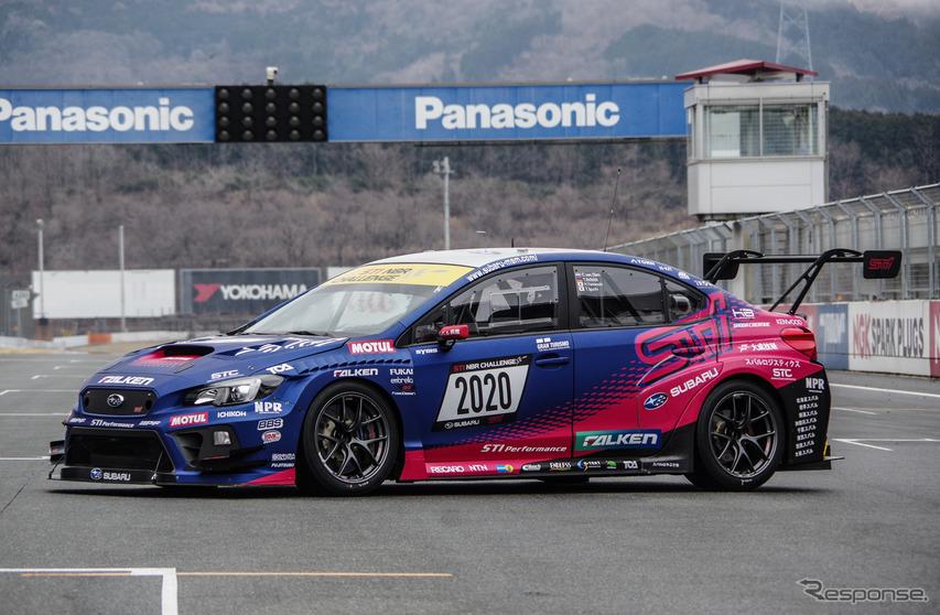 スバル WRX STI 2020年ニュルブルクリンク24時間耐久レース参戦車両