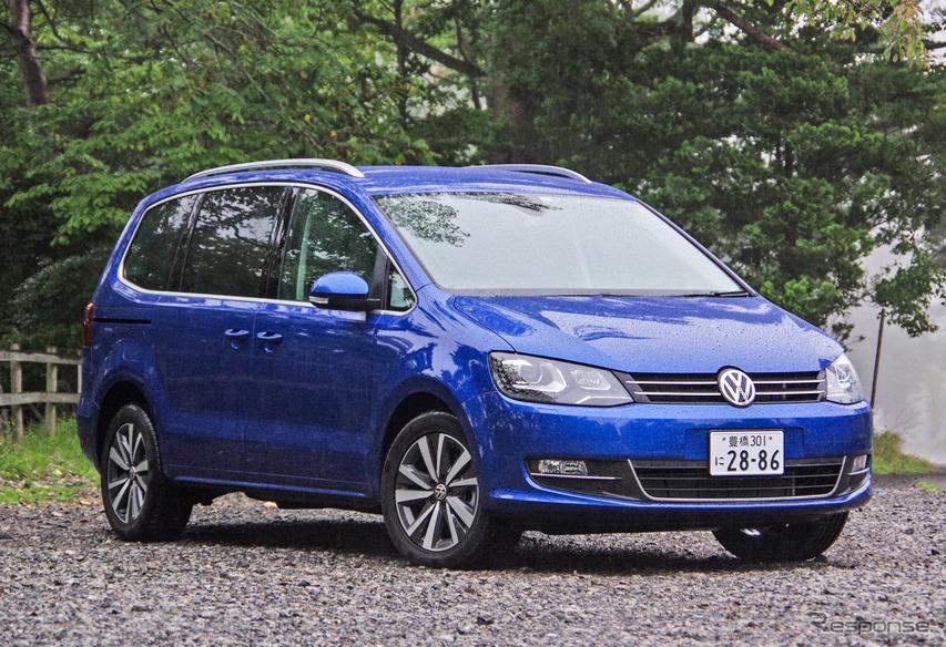 VW シャランTDI 新型試乗 貴重な輸入ディーゼルミニバン、その実力は…渡辺陽一郎