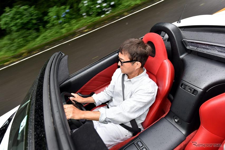 ホンダ S2000 20周年記念モデル に乗る 木下隆之氏