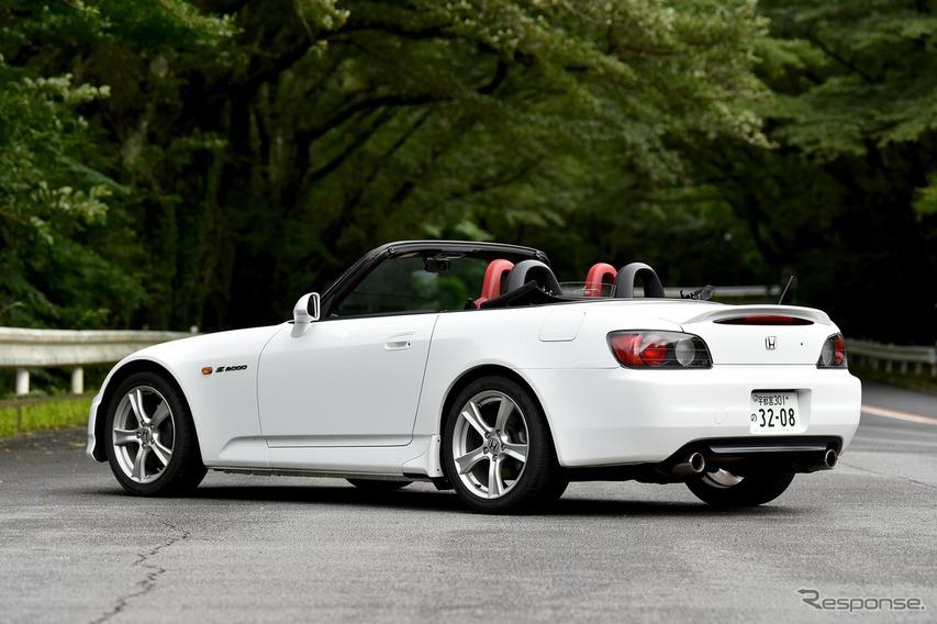 ホンダ S2000 20周年記念モデル(ホンダアクセス 純正アクセサリー装着車)