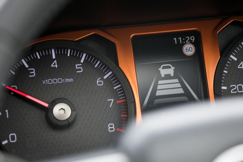 """アダプティブクルーズコントロールは全車速対応型・停車時ホールド機能付きと、スペック的にも充実したもの。車線維持支援機能のカクついた制御が""""玉にきず""""だ。「Gターボ」に標準で、「G」にオプションで用意される。"""