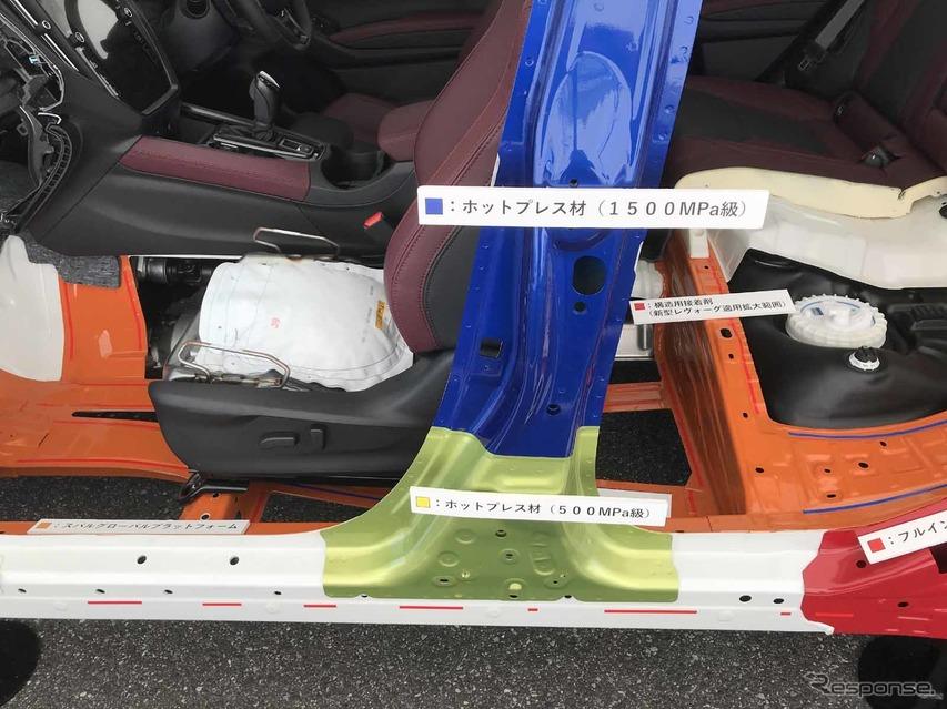 スバル レヴォーグ 新型(プロトタイプ)