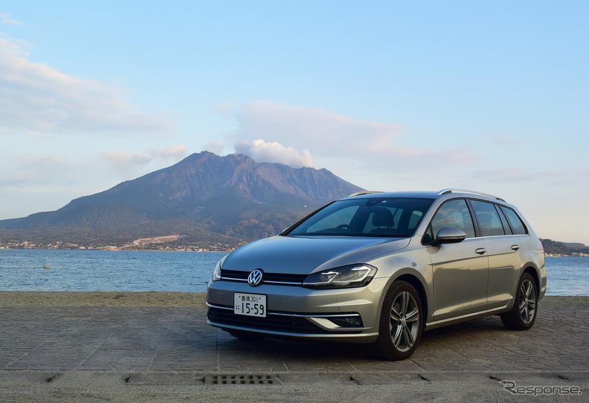 VW ゴルフヴァリアント TDI 3900km試乗 積載力アップと引き換えに失ったものは少ない[前編]