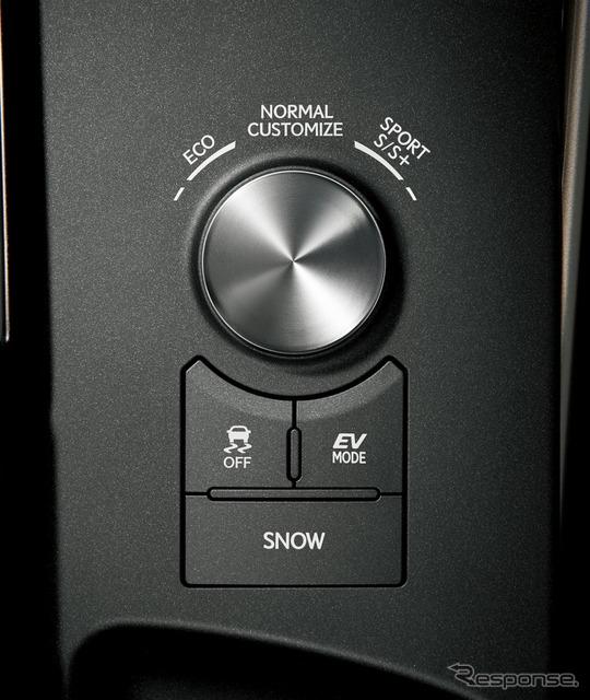 ドライブモードセレクトスイッチ
