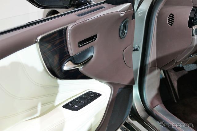 レクサスLS新型(デトロイトモーターショー2017) 《撮影 佐藤耕一》