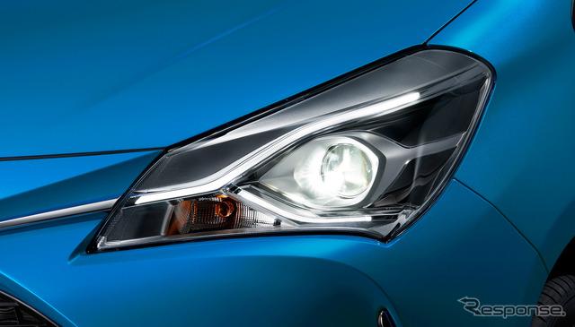 トヨタ ヴィッツのマイナーチェンジモデル