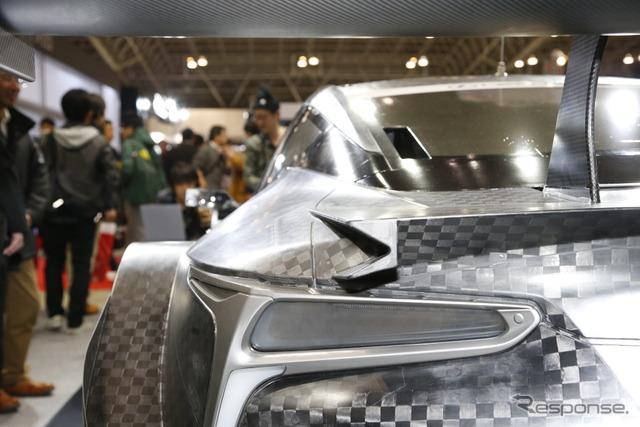 レクサス LC500 - 2017 SUPER GT GT500 class(東京オートサロン2017)